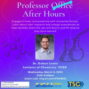 Professor After Hours: Dr. Robert Lewis