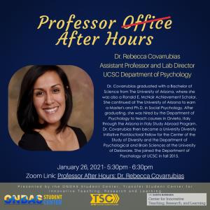 Professor After Hours: Rebecca Covarrubias