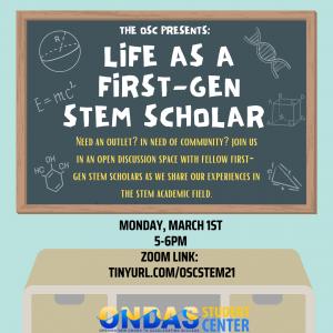 Life as a First-Gen STEM Scholar