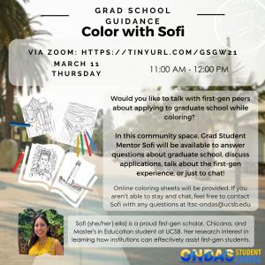 Color with Sofi: Study and Self-Care Edition