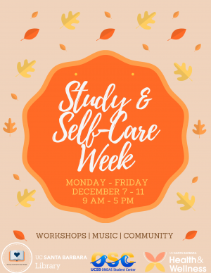 Study and Self-Care Week