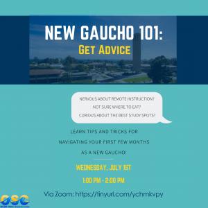 New Gaucho 101: Get Advice