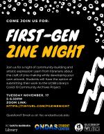 First-Gen Zine Night