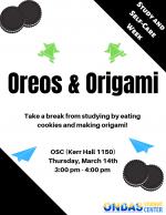 Oreos & Origami Flyer